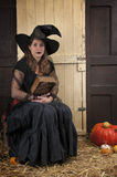 Halloween story telling Royalty Free Stock Image