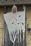 Halloween-Straßendekoration - Gardaland, Italien Lizenzfreies Stockfoto