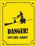 halloween straszny znak Zdjęcie Royalty Free