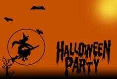Halloween strega nerezza festa royalty illustrazione gratis