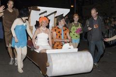 Halloween ståtar NYC Arkivfoton