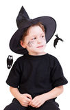 Halloween studio portrait Royalty Free Stock Photo