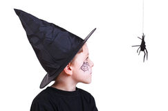 Halloween studio portrait Royalty Free Stock Images