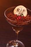 Halloween style dessert Royalty Free Stock Image