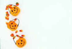 Halloween-suikergoedachtergrond Royalty-vrije Stock Afbeelding