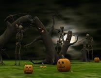 Halloween surrealistyczny Zdjęcie Stock