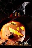 halloween svartkonst Royaltyfria Bilder