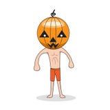 Halloween sveglio Immagine Stock Libera da Diritti