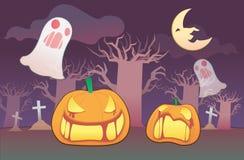 Halloween sveglio Fotografia Stock Libera da Diritti