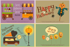 Halloween Sweet Treats Stock Photography