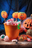 Halloween sweets Stock Image