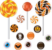 Halloween sweets Stock Photography