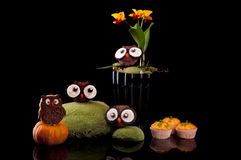 Halloween sweets for Halloween party Stock Images