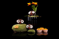 Halloween sweets for Halloween party Royalty Free Stock Images