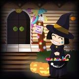 Halloween Sweety  Stock Photo