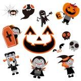 halloween symbol Stock Illustrationer