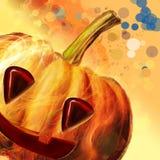 Halloween symbol-Pumpkin Stock Image