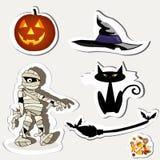 halloween symboler Royaltyfri Foto