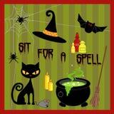 halloween symboler Fotografering för Bildbyråer