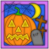 Halloween symbols. An illustration of some Halloween symbols Royalty Free Stock Images