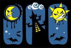 Halloween symbols Royalty Free Stock Image
