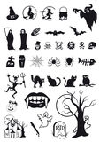 Halloween symbols Royalty Free Stock Photography