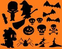 Halloween Symbols Stock Images