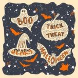 Halloween symbols Royalty Free Stock Photo