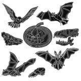 Halloween symbols vector Royalty Free Stock Photos