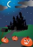 Halloween tła straszne Fotografia Royalty Free