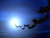 Halloween tło royalty ilustracja
