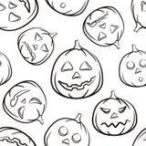 Halloween tła czarny seammless wektora ilustracji
