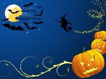Halloween tło Zdjęcie Stock