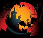 Halloween tło Fotografia Stock