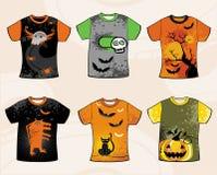 Halloween-T-Shirts. lizenzfreie abbildung