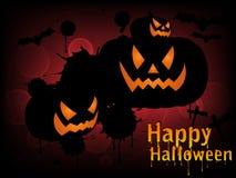 Halloween tła wektora Zdjęcia Royalty Free