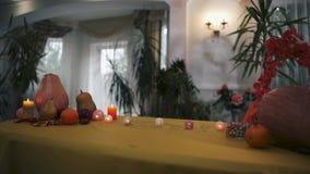 Halloween Tabela místico para Dia das Bruxas video estoque
