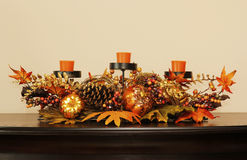 Halloween table decoration Royalty Free Stock Images