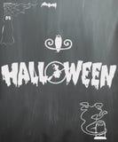 Halloween-Tafel stockbilder