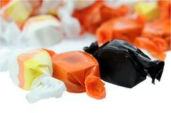 Halloween taffy candy Royalty Free Stock Photos