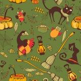 Halloween-Tag, Danksagungs-Ernte Lizenzfreies Stockbild