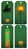 Halloween tag royalty free illustration