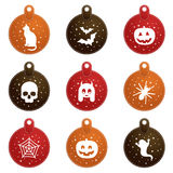 Halloween tags Stock Images