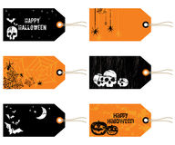 Halloween tags Stock Image