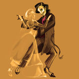 Halloween-Tanz vektor abbildung