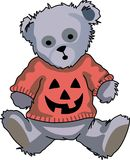 HALLOWEEN TEDDY BEAR Stock Image