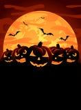 Halloween tema vektor illustrationer