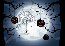 Halloween tema Arkivbilder
