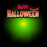 Halloween template background Royalty Free Stock Image