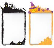 Halloween templates royalty free illustration